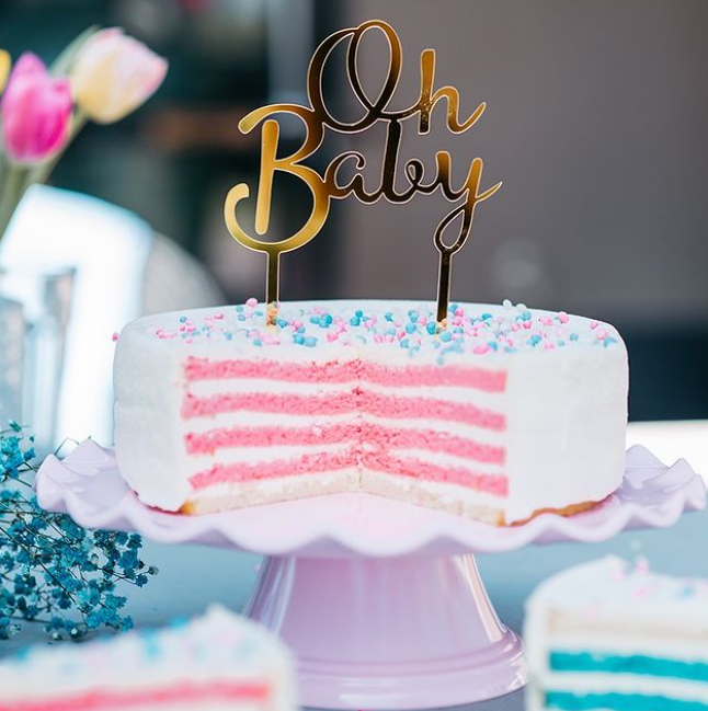 Geboort-Gender-Reveal-taarten